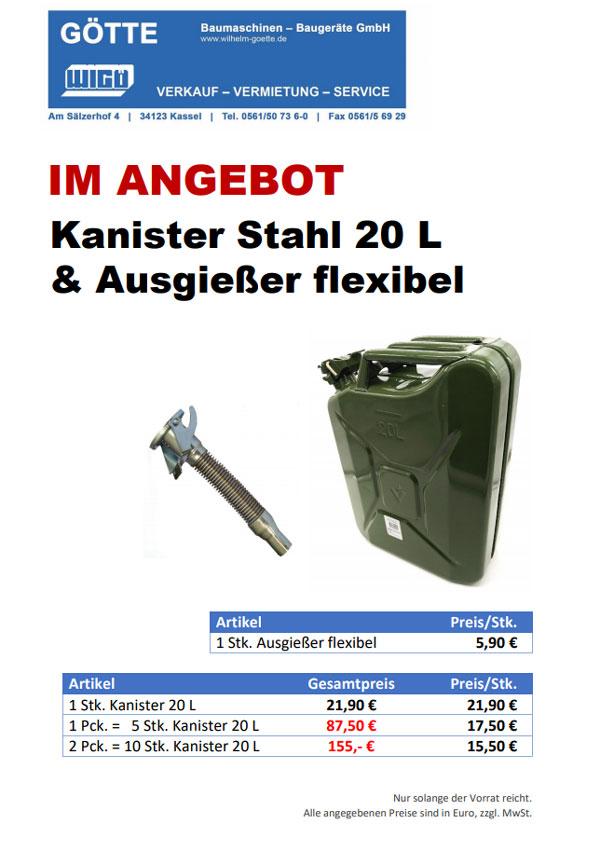Benzinkanister 20l