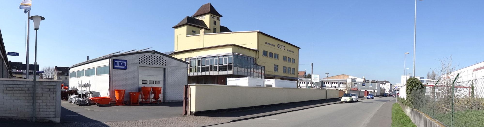 Firma Götte in Kassel | Baumaschinen Baugeräte Verkauf + Vermietung