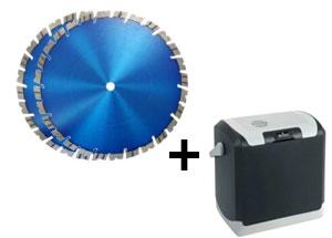 2x Diamantscheibe + gratis Kühlbox